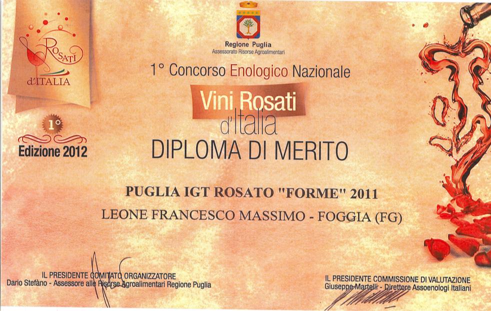 ROSATO CONCORSO